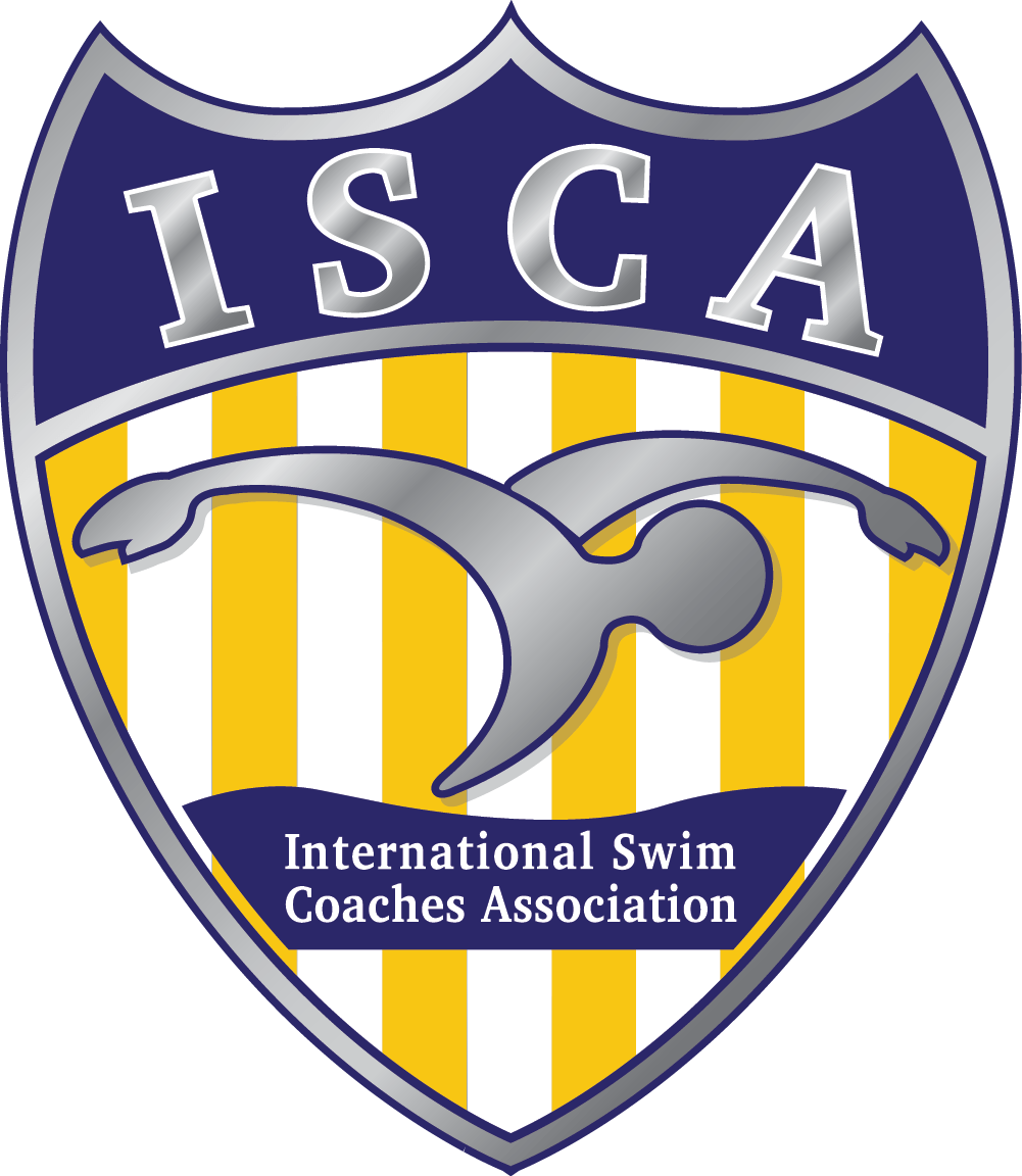 swim isca logo - silver shield