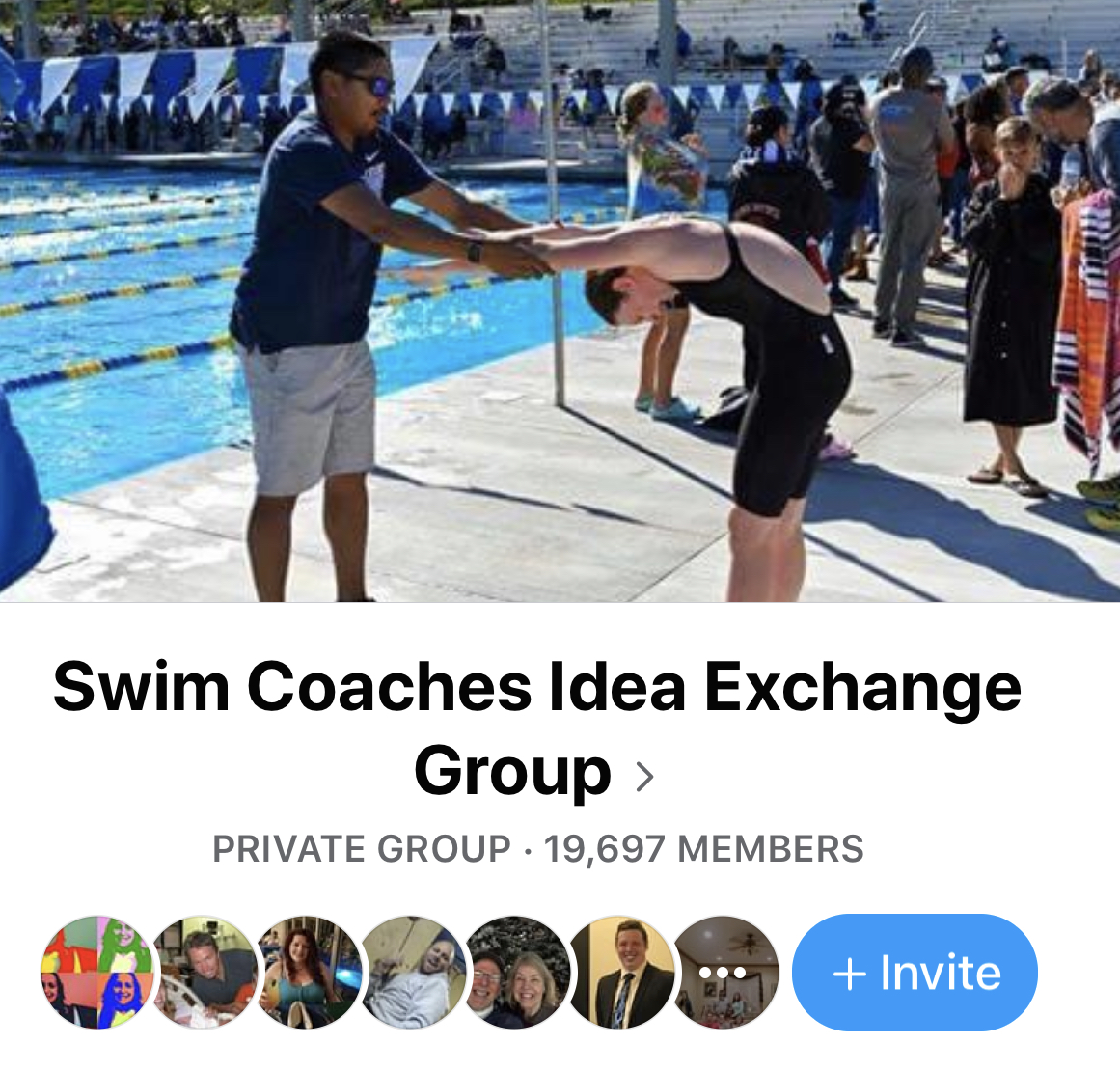 Swim Coaches Idea Exchange on Facebook
