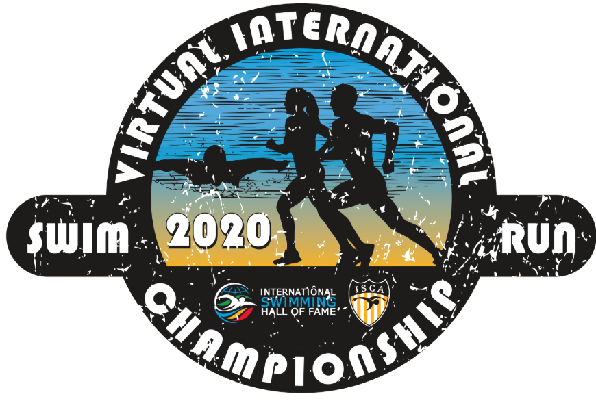 Virtual International Championships Swim Run 2020 (logo)