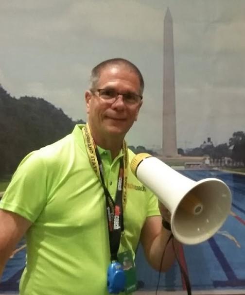 Mark with bullhorn