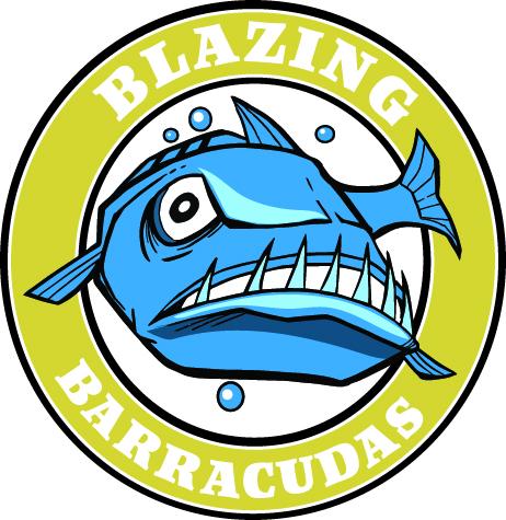 Blazing Barracudas logo