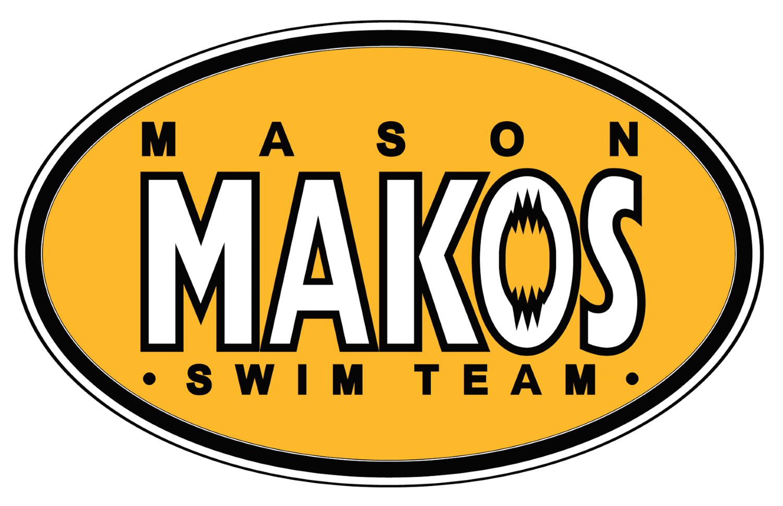 Mason Makos Swim Team logo