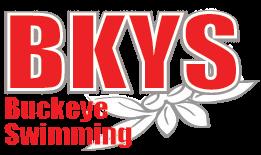 Buckeye Swimming logo