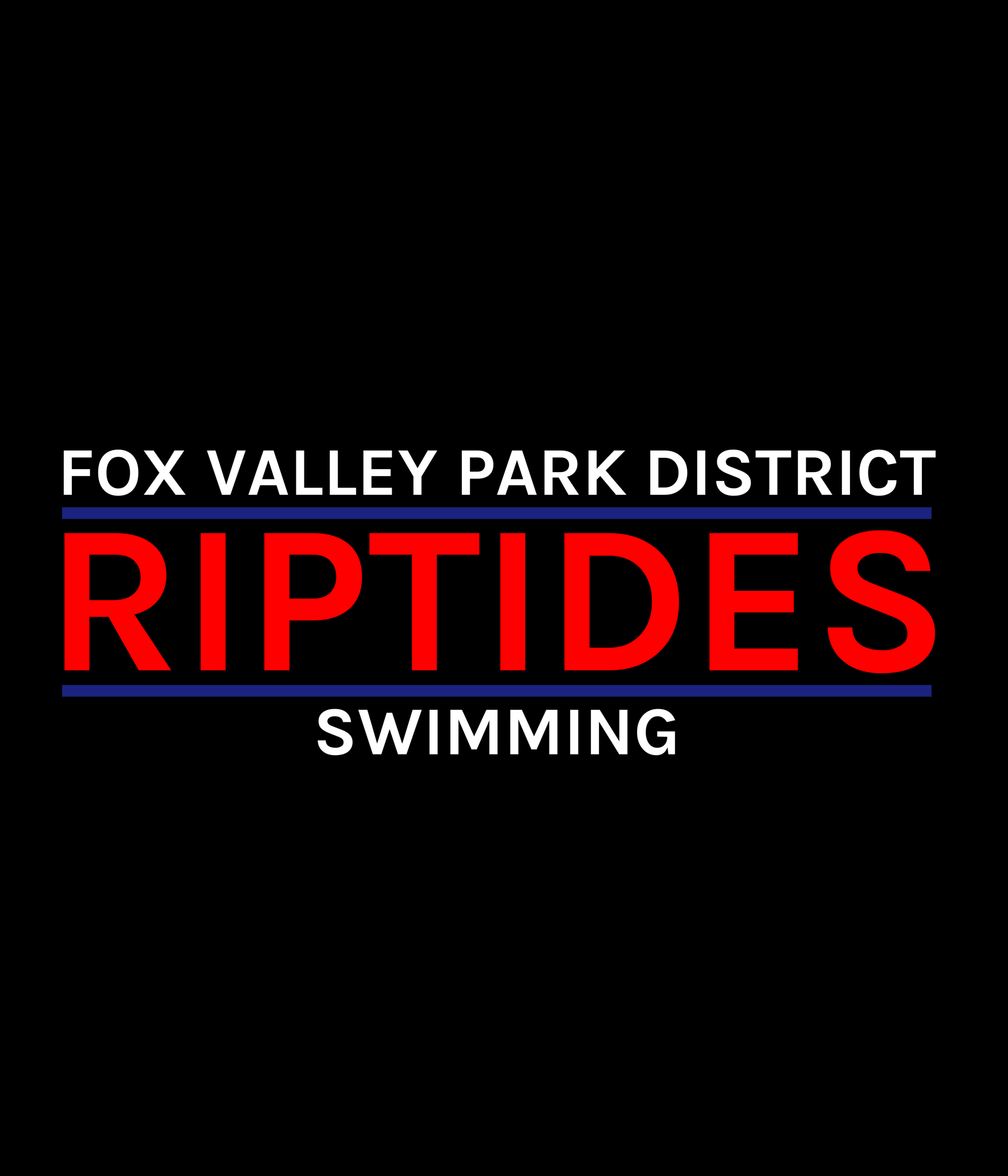 Fox Valley Park District Riptides logo